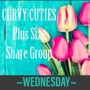Tops - 5/8 (CLOSED) PLUS SHARE GROUP: Curvy Cuties